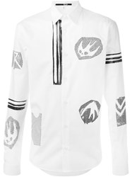 Mcq By Alexander Mcqueen 'Googe' Shirt White