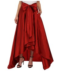 Adrianna Papell High Low Ball Skirt Red Women's Skirt