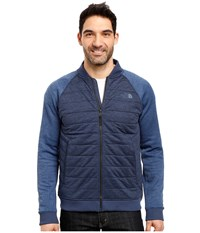 The North Face Norris Point Insulated Full Zip Urban Navy Heather Shady Blue Heather Men's Clothing