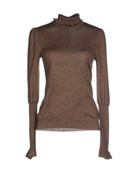 Ralph Lauren Knitwear Turtlenecks Women Khaki