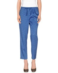 Nude Trousers Casual Trousers Women Azure