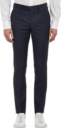 Band Of Outsiders Pin Dot Stripe Trousers Blue