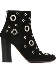 Cnc Costume National Costume National Eyelet Ankle Boots Black