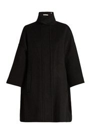Vince Double Faced Wool Duffle Coat Black