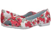 Blowfish Rale Off White Monet Flowers Print Fabric Women's Flat Shoes Multi