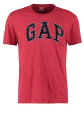 Gap Polo Shirt Red Heather