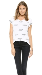 Zoe Karssen Bat Allover Tee White