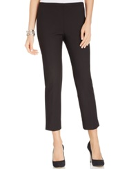 Karen Kane Stretch Capris Black