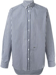 Dsquared2 Button Down Collar Shirt Blue
