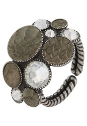 Konplott Planet River Ring Grey Antique Silver
