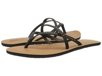 Volcom All Day Long 2 Black Women's Sandals
