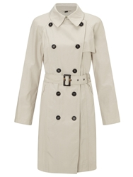Four Seasons Short Trench Jacket Stone