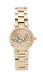 Marc Jacobs Dotty Extensions Watch Gold Clear