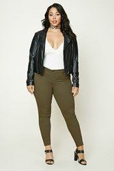 Forever 21 Plus Size Mid Rise Jeans