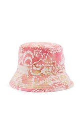 Our Legacy Hand Print Bucket Hat Pink Multi