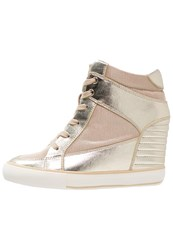 Aldo Catherin Trainers Gold