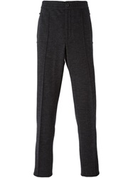 Lanvin Formal Track Trousers Grey
