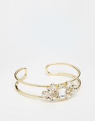 Love Rocks Statement Bracelet Cuff Silver