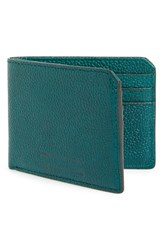 Men's Ben Minkoff 'Vesper' Wallet Blue Green Deep Sea