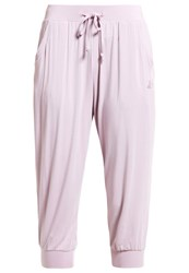 Curare Yogawear 3 4 Sports Trousers Rose
