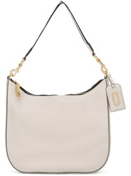 Marc Jacobs 'Gotham City' Hobo Shoulder Bag Nude And Neutrals