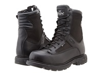 Thorogood 8 Inch Trooper Side Zip Black Men's Work Boots