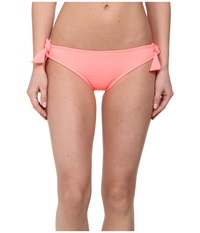 Hurley One And Only Solids Hipster Bottom Pink Women's Swimwear