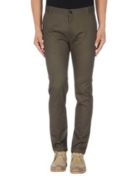 Phonz Says Black Casual Pants Military Green