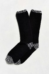 Urban Outfitters Fuzzy Boot Sock Black