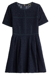 Juicy Couture Embroidered Dress Blue