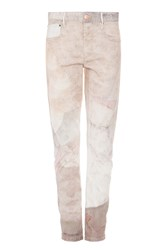 Isabel Marant Women S Valone Printed Jeans Boutique1 Beige
