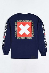 10.Deep Rescue Long Sleeve Tee Navy