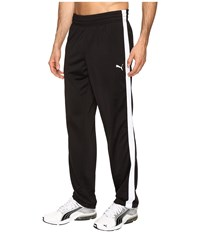 Puma Contrast Open Pants Black White Men's Casual Pants