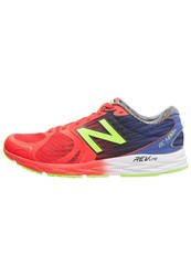 New Balance 1400V4 Lightweight Running Shoes Rot Blau Lime Red