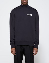 Patrik Ervell Turtleneck Sweatshirt Black