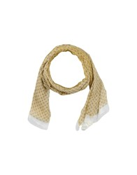 Tombolini Accessories Oblong Scarves Men Ocher