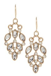 14Th And Union Small Stone Vintage Drop Earrings Metallic