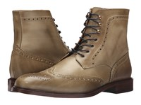 Massimo Matteo 7 Eye Wing Boot Taupe Men's Shoes