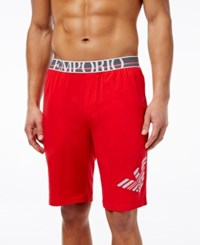 Emporio Armani Men's Bermuda Shorts Red
