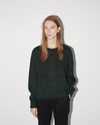 Etoile Isabel Marant Clifton Mohair Sweater Dark Green