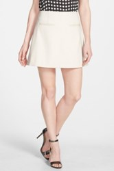 Chelsea 28 A Line Pocket Skirt White