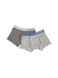 White Stuff Crown Boxer Double Pack Multi Coloured