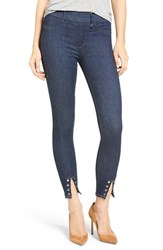 True Religion Women's Eyelet Runway Leggings