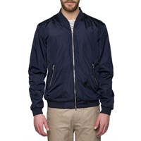 Gant Rugger Navy Airy Bomber Jacket Blue