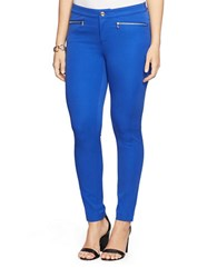 Lauren Ralph Lauren Plus Bi Stretch Skinny Pants Beach Royal