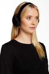 Dena Genuine Mink Fur Earmuff Black