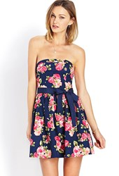 Forever 21 Garden Party Tube Dress