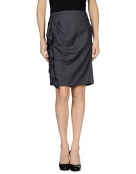 Gaudi' Skirts Knee Length Skirts Women Black