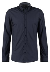 Tom Tailor Fitted Shirt Agate Stone Blue Dark Blue