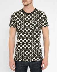 Scotch And Soda Black Cross Washed T Shirt